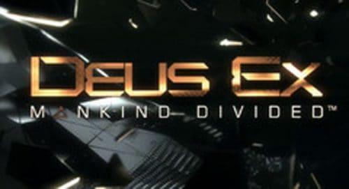 Deus Ex Mankind Divided Title Treatment