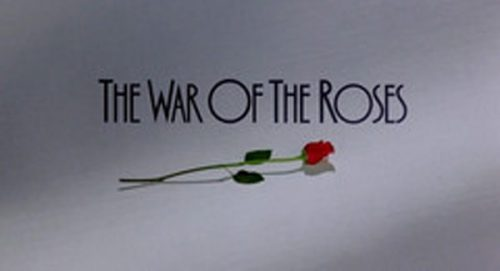 The War of the Roses Title Treatment