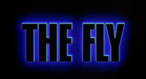 The Fly Title Treatment