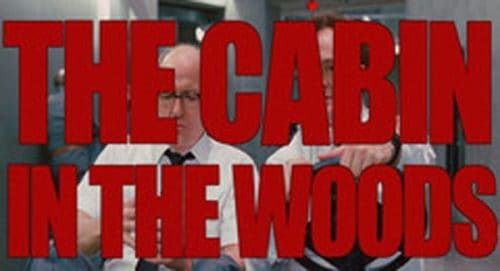 The Cabin In The Woods Title Treatment