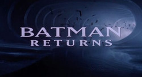 Batman Returns Title Treatment