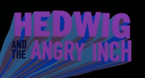 Hedwig and the Angry Inch Title Treatment