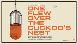 One Flew Over The Cuckoo's Nest Illustrated Poster 002