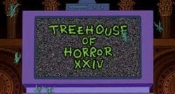 Treehouse of Horror XXIV Title Treatment