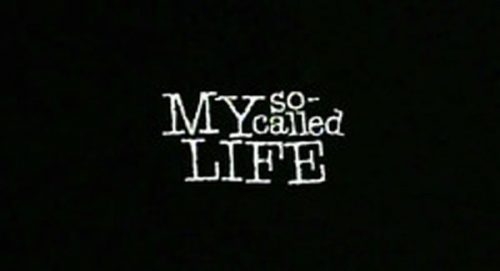 My So Called Life Title Treatment
