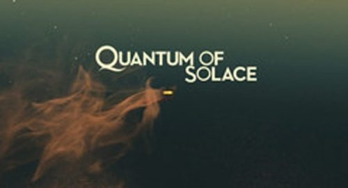 Quantum of Solace Title Treatment