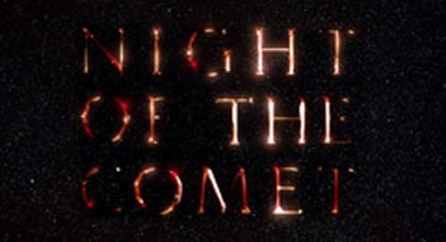 Night of the Comet Title Treatment