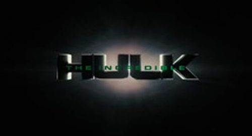 The Incredible Hulk Title Treatment