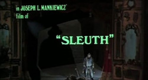 Sleuth Title Treatment