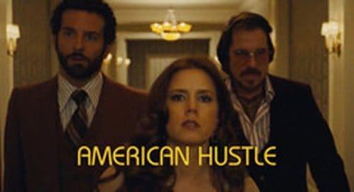 American Hustle Title Treatment