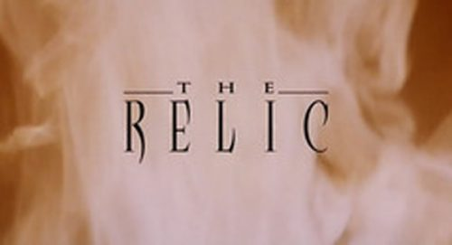 The Relic Title Treatment