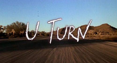 U Turn Title Treatment