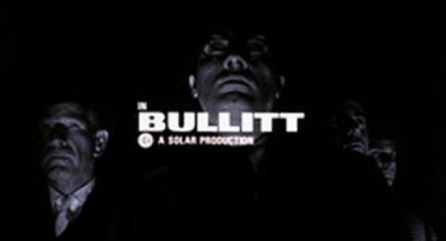 Bullitt Title Treatment