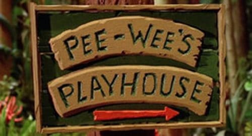 Pee Wee's Playhouse Title Treatment