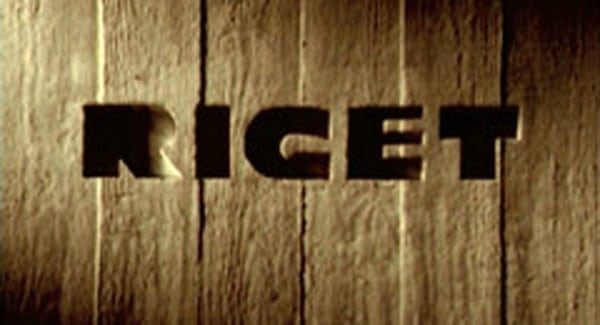 Riget Title Treatment