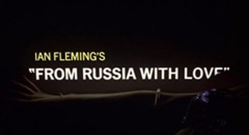From Russie with Love Title Treatment
