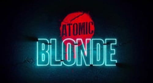 Atomic Blonde Title Treatment