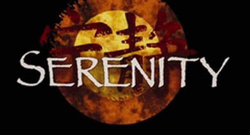 Serenity Title Treatment