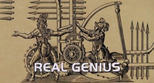 Real Genius Title Treatment
