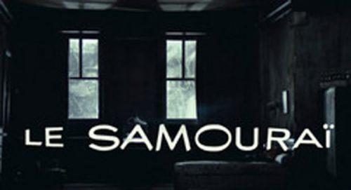 Le Samourai Title Treatment