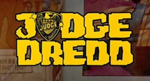 Judge Dredd Title Treatment