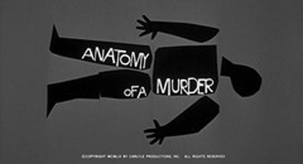 Anatomy of a Murder Title Treatment