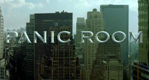 Panic Room Title Treatment