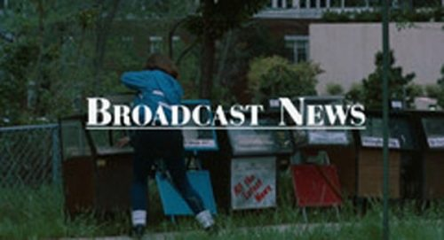 Broadcast News Title Treatment