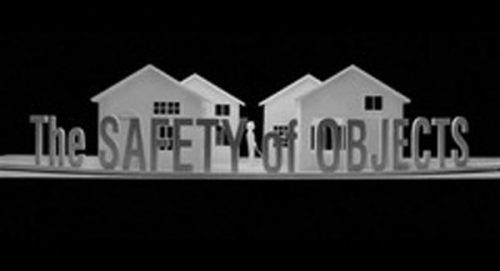 The Safety of Objects Title Treatment