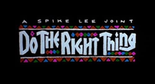 Do The Right Thing Title Treatment