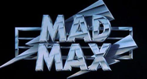 Mad Max Title Treatment