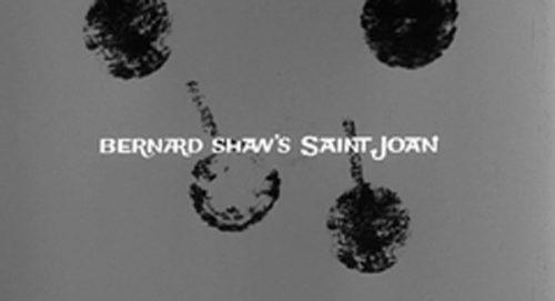 Saint John Title Treatment
