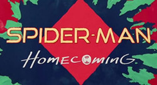 Spider-Man Homecoming Title Treatment