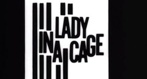 Lady in a Cage Title Treatment