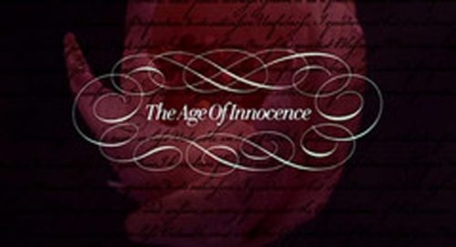 The Age of Innocence Title Treatment