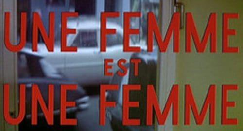 Une Femme est Une Femme Title Treatment
