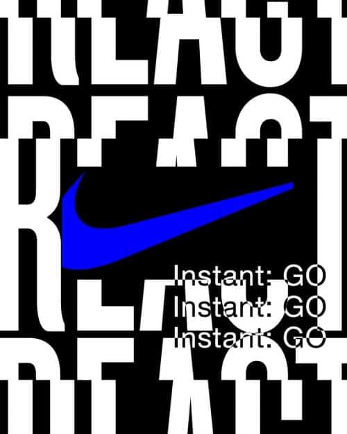 Tran La x Conscious Minds – Nike React IG Typographic Poster Campaign 2 (4)