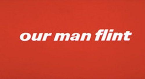 Our Man Flint Title Treatment