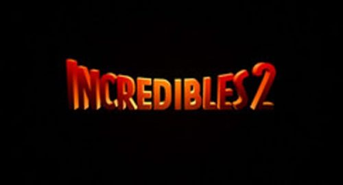 Incredibles 2 Title Treatment