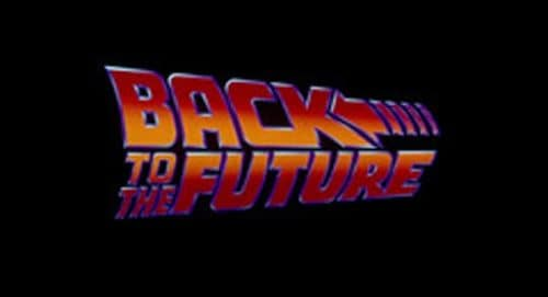 Back to the Future Title Treatment