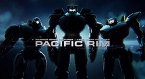 Pacific Rim Title Treatment