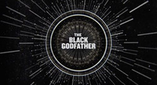 The Black Godfather Title Treatment
