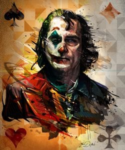JOKER THE MOVIE Digital Painting Illustration