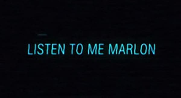 Listen to me Marlon Title Treatment