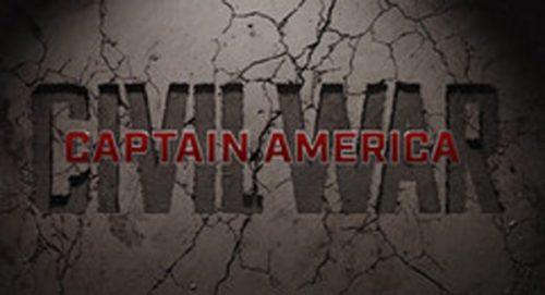 Captain American Civil War Title Treatment