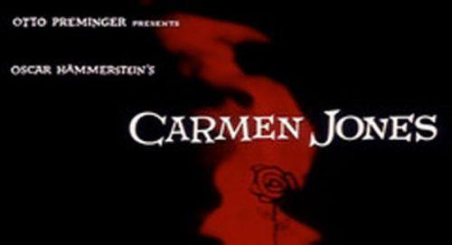 Carmen Jones Title Treatment