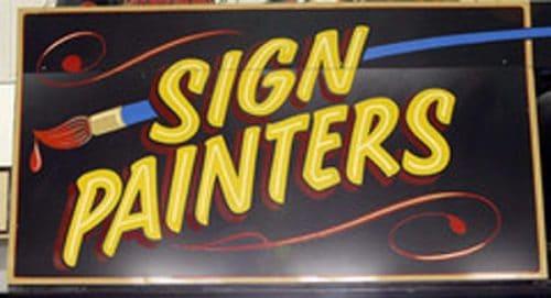 Sign Painters Title Treatment