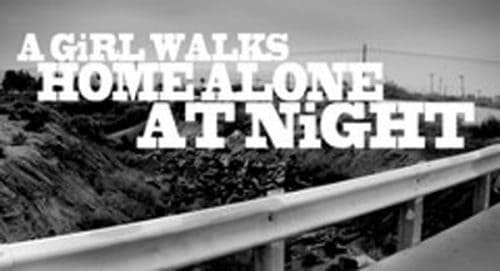 A Girl Walks Home Alone At Night Title Treatment