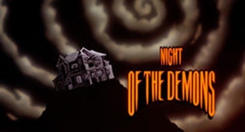 Night of the Demons Title Treatment
