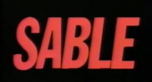 Sable Title Treatment